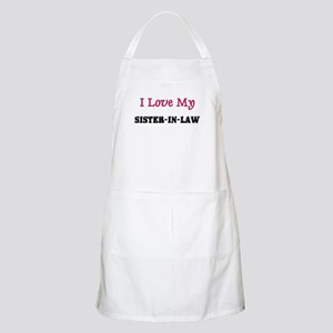 I LOVE MY SISTER-IN-LAW BBQ Apron