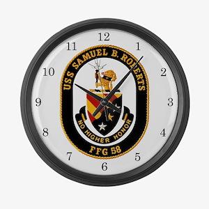 USS Samuel B. Roberts FFG-58 Large Wall Clock