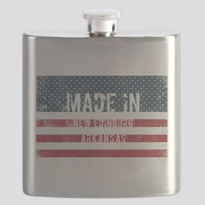 Made in New Edinburg, Arkansas Flask