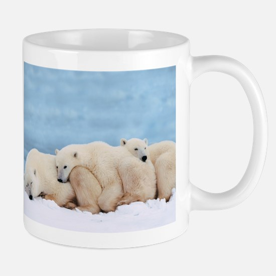 Polar Bear Domino Coffee Mug