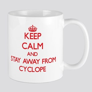Keep calm and stay away from Cyclope Mugs