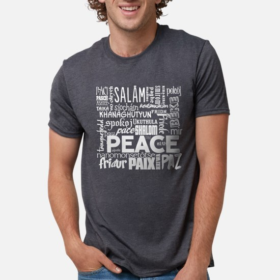 Peace Word Cloud T-Shirt