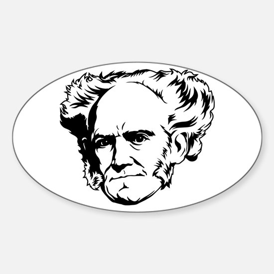 Strk3 Schopenhauer Oval Decal