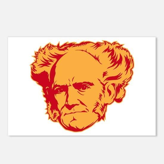 Strk3 Schopenhauer Postcards (Package of 8)