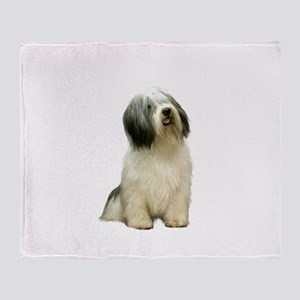 Polish Lowland Sheepdog 1 Throw Blanket