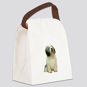 Polish Lowland Sheepdog 1 Canvas Lunch Bag