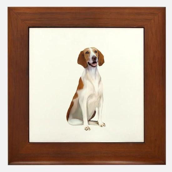 AmericanFoxhound1 Framed Tile