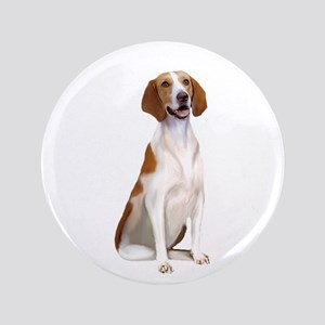 "AmericanFoxhound1 3.5"" Button"
