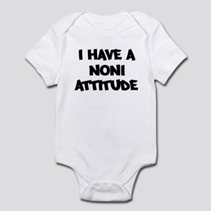 NONI attitude Infant Bodysuit