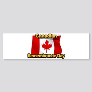 Canadian Remembrance Day Bumper Sticker
