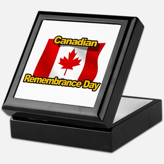 Canadian Remembrance Day Keepsake Box
