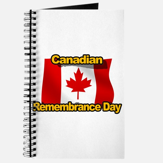 Canadian Remembrance Day Journal