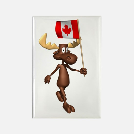 Cool Moose Rectangle Magnet