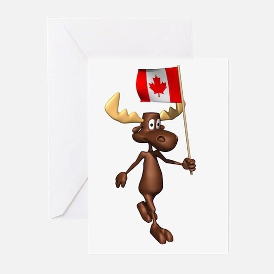Cool Moose Greeting Cards (Pk of 10)