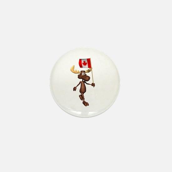 Cool Moose Mini Button