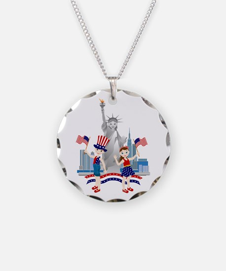 American Kids Necklace