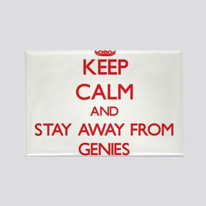 Keep calm and stay away from Genies Magnets