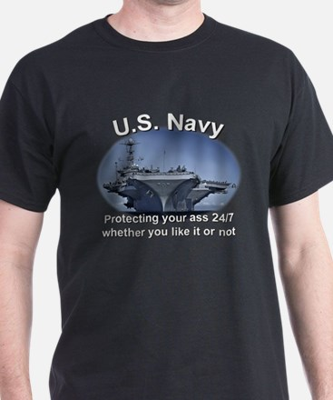 US Navy Protecting your @$$ T-Shirt