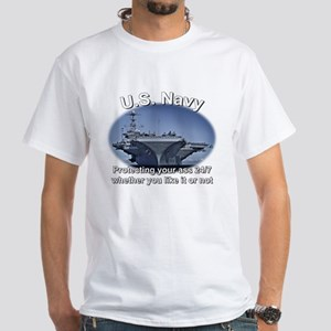Personalized Us Navy Protecting Your @$$ T-Shirt
