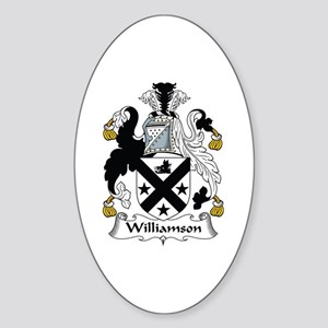 Williamson Oval Sticker