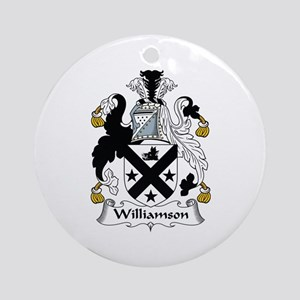 Williamson Ornament (Round)