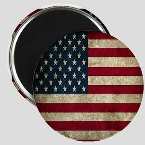 USA Flag - Grunge Magnets