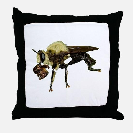 Cute Bee lover Throw Pillow