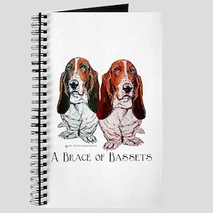 Basset Hound Brace Journal