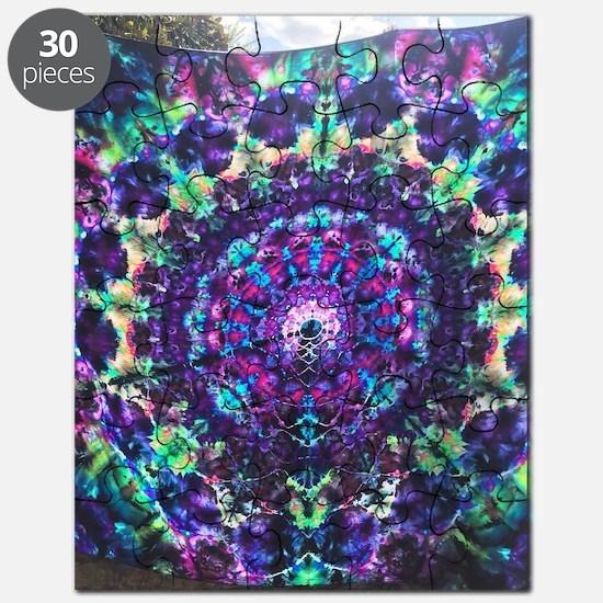 Unique Tye dye Puzzle