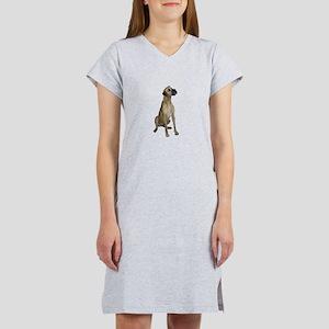 Great Dane (fawn) Women's Nightshirt