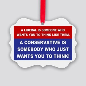 A Conservative Picture Ornament