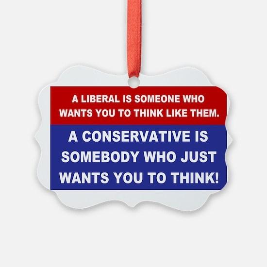 A Conservative Ornament