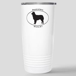 AUSSIES RULE Stainless Steel Travel Mug