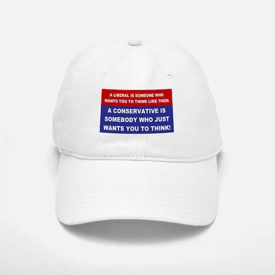 A Conservative Baseball Baseball Cap