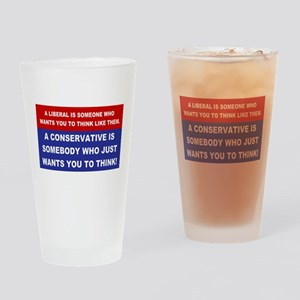 A Conservative Drinking Glass