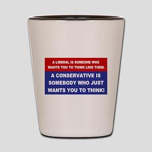 A Conservative Shot Glass