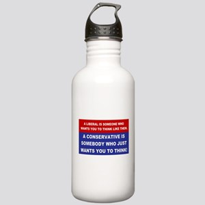 A Conservative Stainless Water Bottle 1.0L