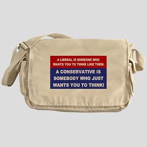 A Conservative Messenger Bag