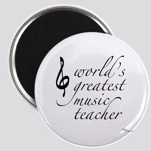 world's greatest music teache Magnet