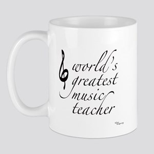 world's greatest music teache Mug