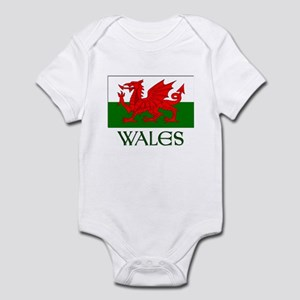 For the love of Wales! Infant Bodysuit