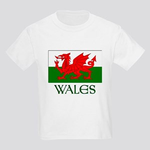 For the love of Wales! Kids Light T-Shirt