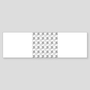 Om, Aum Symbol Bumper Sticker