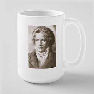 Beethoven In Sepia Mugs