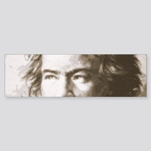 Beethoven In Sepia Bumper Sticker