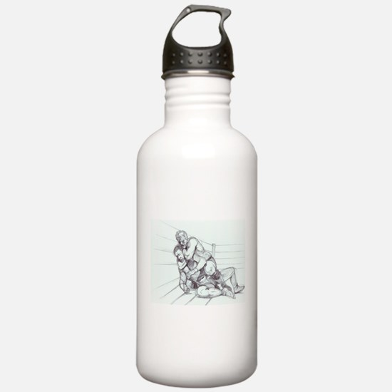 Fighting Pencil Sports Water Bottle