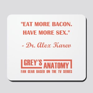 EAT MORE BACON Mousepad