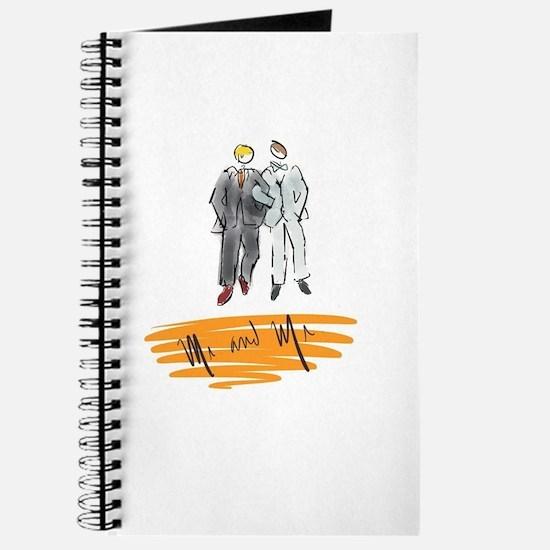 Mr and Mr Orange Journal