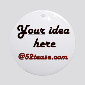 Personalized Customized Ornament (Round)
