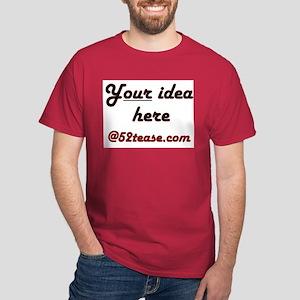 Personalized Customized Dark T-Shirt